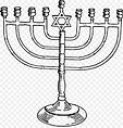 Religião - Juaísmo Menorá Hanukkah.jpeg