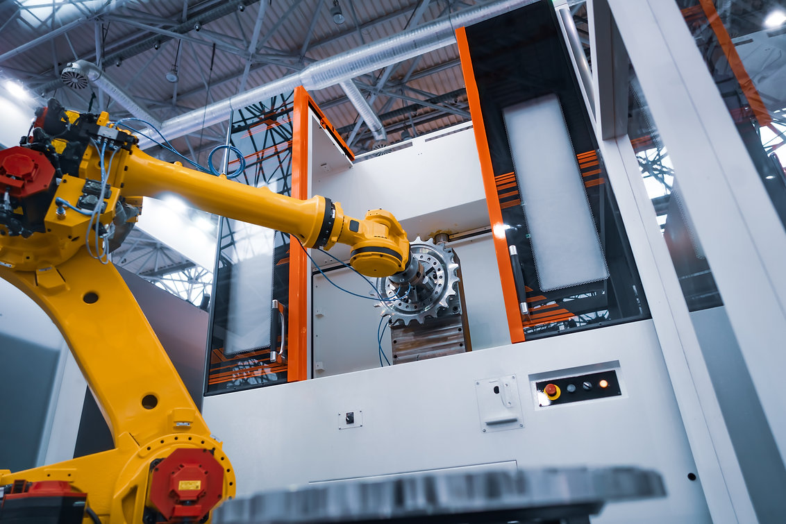 robotic-arm-modern-industrial-technology