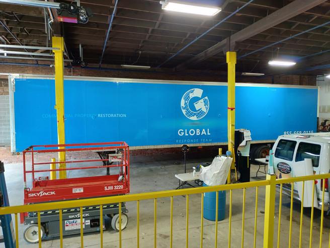 Global Response Team Full Trailer Wrap