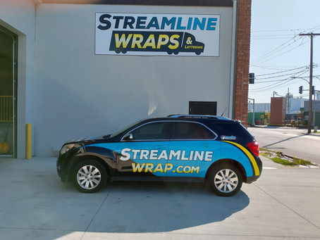 Design Your Commercial Vehicle Wrap Simple, Clean, and Clear
