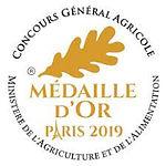 Médaille Or 2019 Le Lamballais Brut Bio