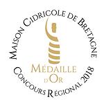 Médaille d'Or 2018 Cidrerie Benoit