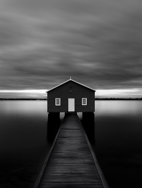 Crawley Edge Boat Shed