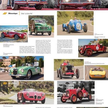 """Trofeo """"La dolce vita"""" 2019: foto su AutoCapital e altre riviste"""