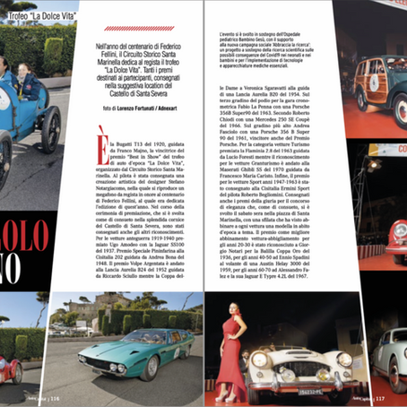 """""""La dolce vita 2020"""": fa il tour sulle riviste di settore"""
