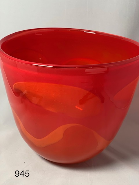 Red Art Bowl