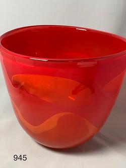 Red Art Bowl