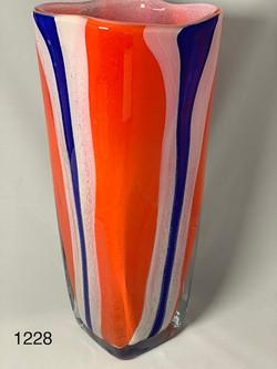 Patriotic Vase