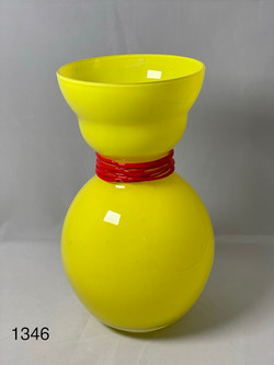 Yellow with Red