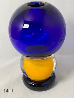 Cobalt & Yellow Orbs