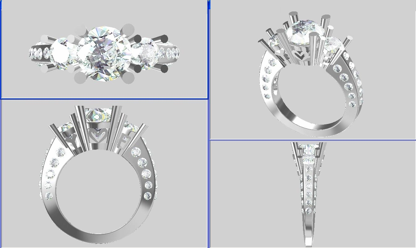 Images from a CAD