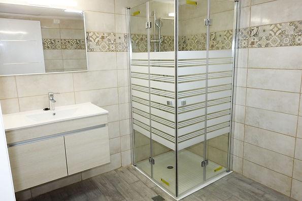 שירותים ומקלחת עיצוב מחדש