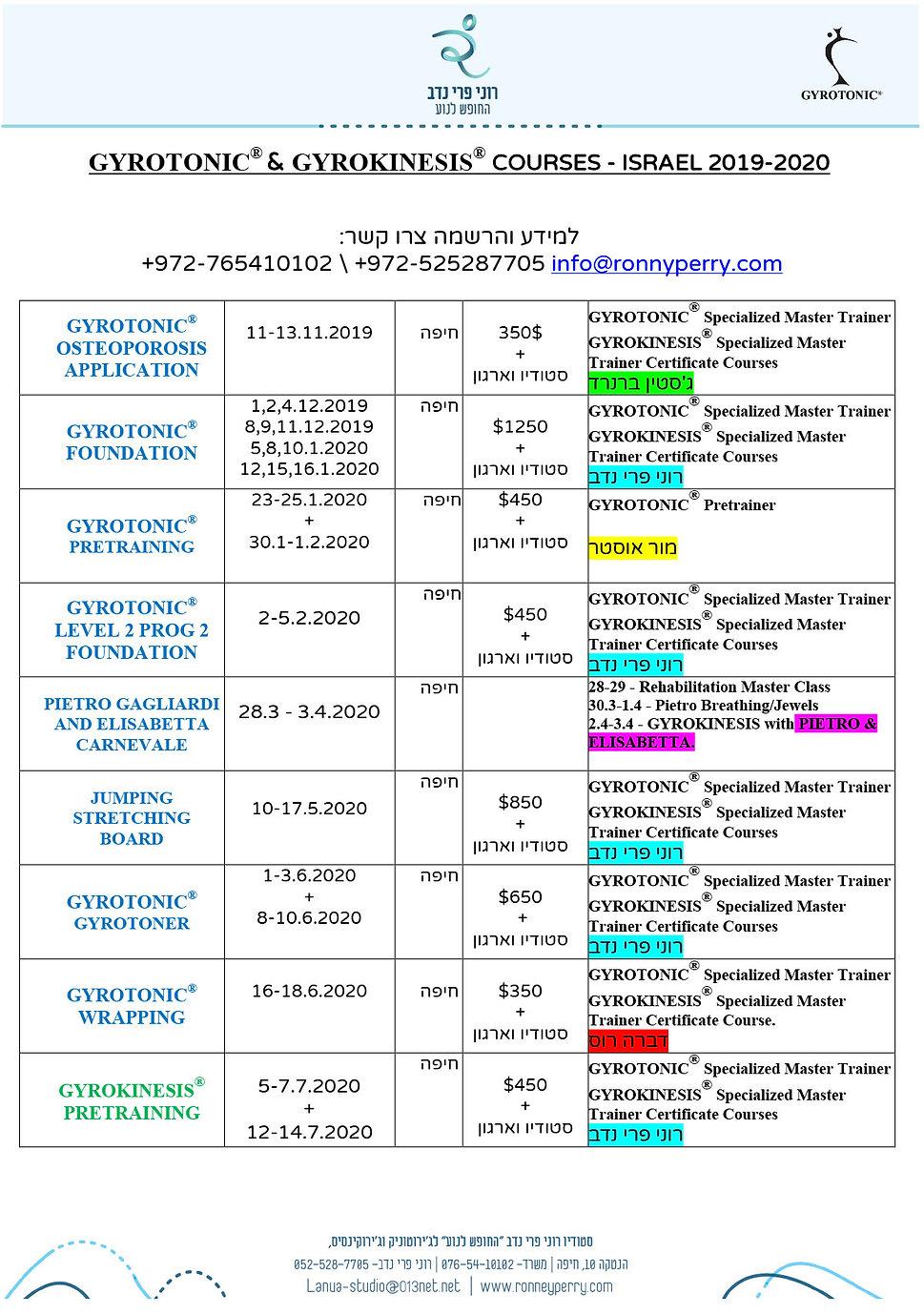 courses israel 2019-2020 27.9.19.jpg