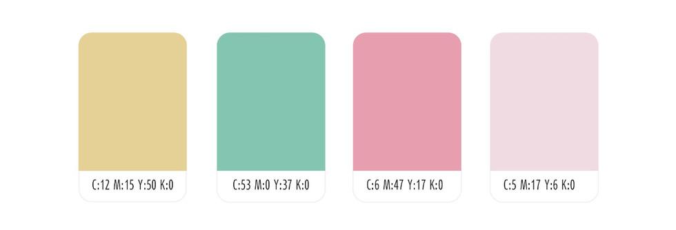 צבעוניות המותג האוצרת