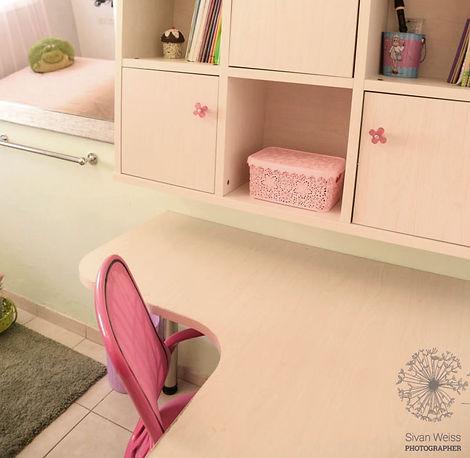 טלי אלון עיצוב חדר נסיכות