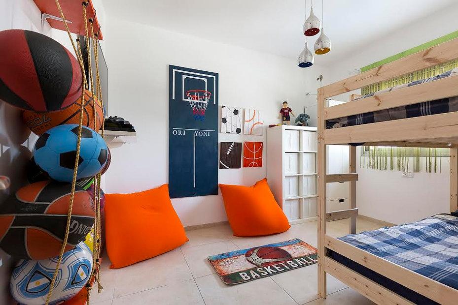 טלי אלון עיצוב חדר ילדים