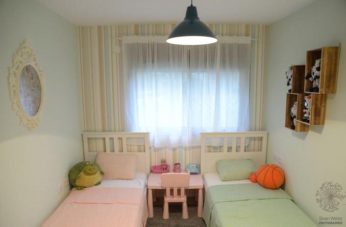 בחירת צבע לקירות בחדרי הילדים
