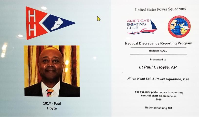 Nautical Discrepancy - CoOp Charting