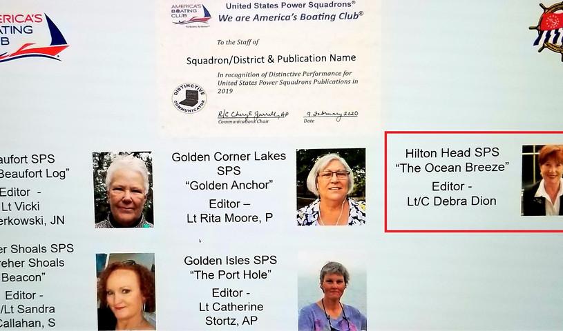 Communicators Award - Newsletter