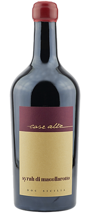 Filari syrah Macellarotto doc 2017 cl 75 - Case Alte