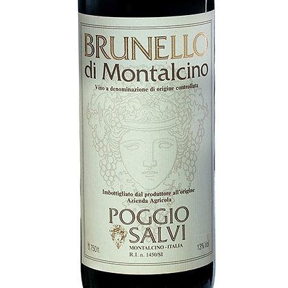 Brunello di Montalcino DOCG 1981 cl 75 - Poggio Salvi