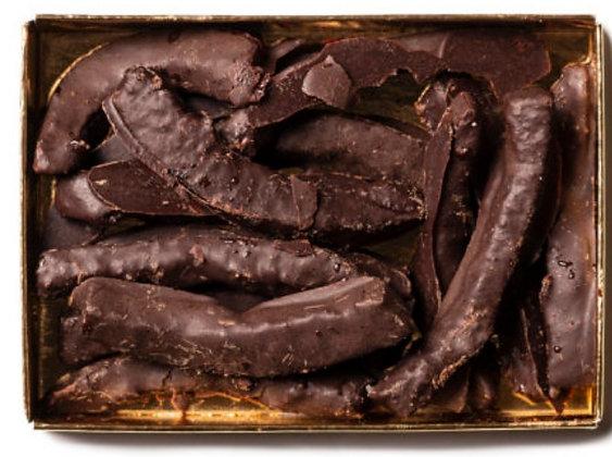 Scorzette d'arancia ricoperte di cioccolato gr. 70- Antica Dolceria Bonajuto