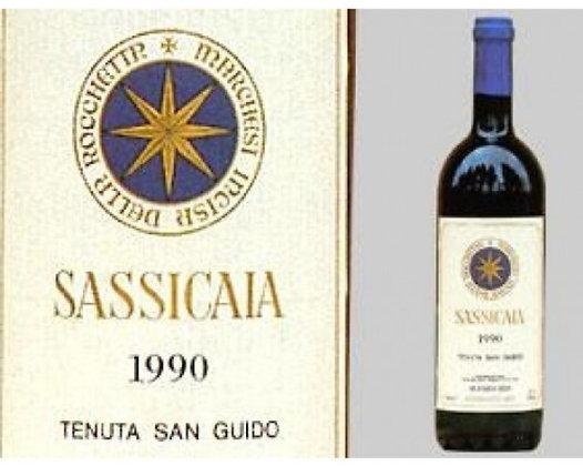 Sassicaia 1990 cl 75 - Tenuta San Guido