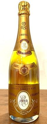 Champagne brut Louis Roederer Cristal millesime 1989