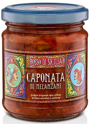 Caponata di melanzane 190GR - Rosso di Sicilia