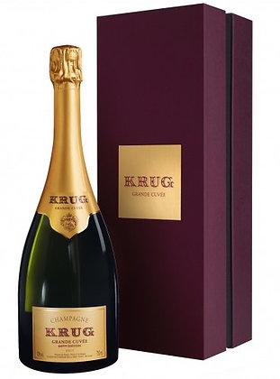 Champagne Krug Grand Cuvée 166 edition coffret cl 75