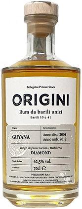 Rum Origini Guyana 2004 cl 70 - Pellegrini