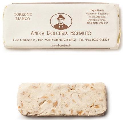 Torrone Bianco gr.100 - Antica Dolceria Bonajuto