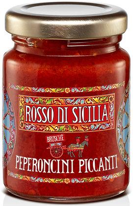 Bruschè peperoncini piccanti 90GR - Rosso di Sicilia