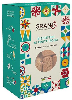 Granisi Biscotti ai Frutti Rossi gr 210 - Tumminello biscotti