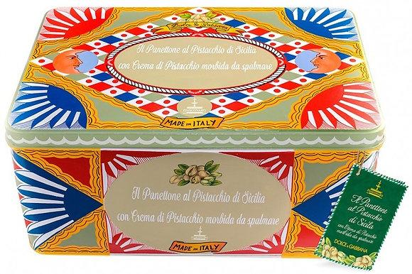 Panettone al pistacchio di Sicilia Dolce e Gabbana kg 1 - Fiasconaro