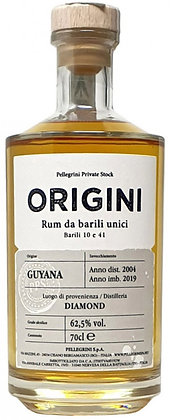 Rum Origini Guyana Diamond 2004 cl 70 - Pellegrini