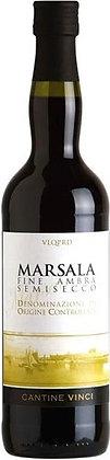 Marsala Fine Ambra Semisecco cl 75 - Cantine Vinci