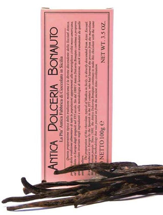 Cioccolato alla Vaniglia gr. 100 - Antica dolceria Bonajuto