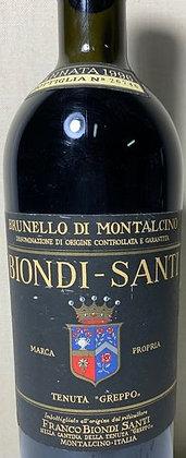 Brunello di Montalcino Riserva docg 1996 cl 75 - Biondi Santi