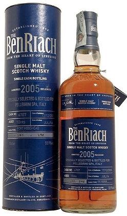 Whisky single malt Benriach vintage 2005 -  58,9% cl 70
