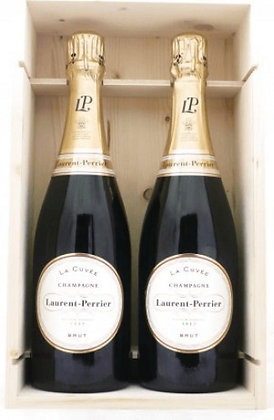 Champagne Brut 2 x cl 75 - Laurent Perrier