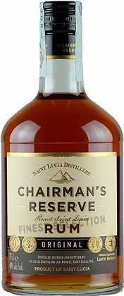 Rum Chairman's Reserve Original cl 70 - Saint Lucia Distillers