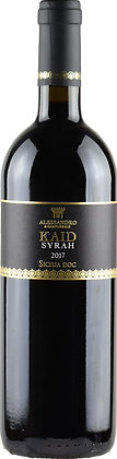 Kaid Syrah doc 2017 cl 75 - Alessandro di Camporeale