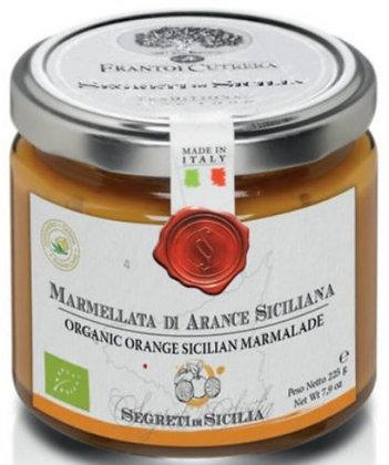 Marmellata di arance bio 225 gr - Cutrera