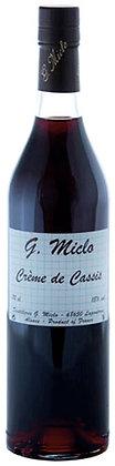 Crème de Cassis 18% cl 70 - Distillerie G. Miclo