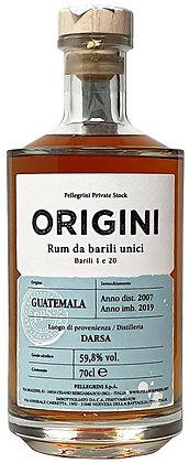 Rum Origini Darsa Guatemala da unico barile 2007 - Pellegrini