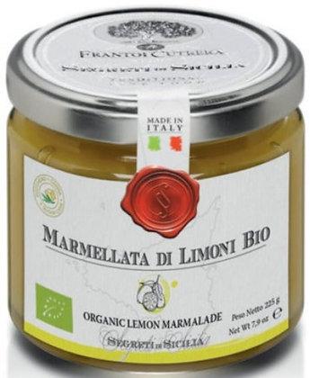 Marmellata di limoni bio 225 gr - Cutrera