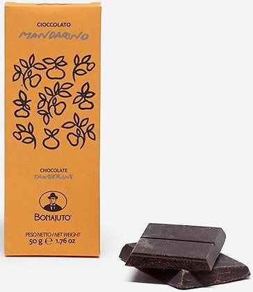 Cioccolato Bonajuto al mandarino gr.50 - Antica Dolceria Bonajuto