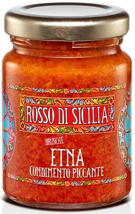 Bruschè Etna condimento piccante 90GR - Rosso di Sicilia