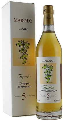 Grappa di moscato apres 5 ans cl 70 - Distillerie Marolo